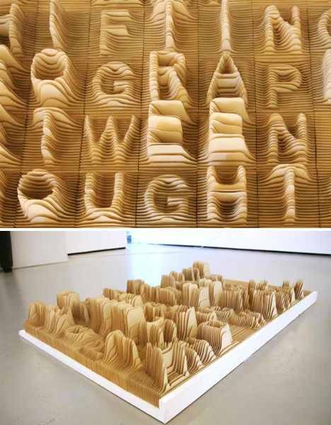 Alphabet Topography by Synoptic Office