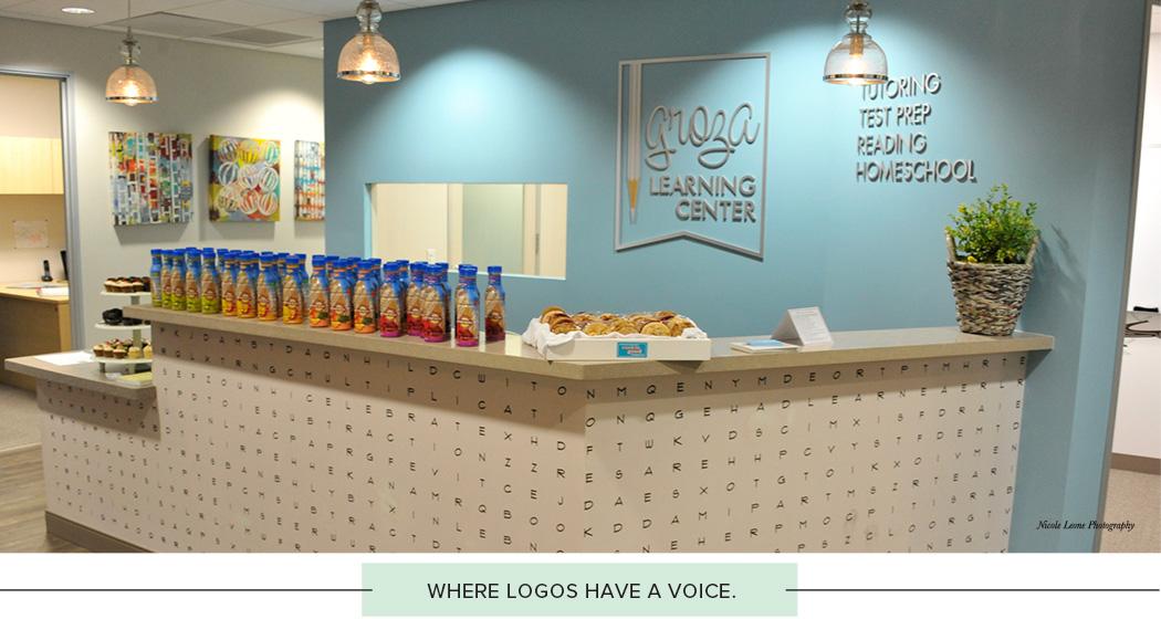 Where logos have a voice.